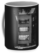 The Exterior Of A Modern Townhouse Coffee Mug