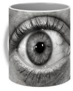 The Eye Coffee Mug by Luke Moore