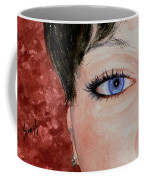 The Eyes Have It - Nicole Coffee Mug