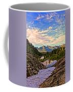 The Eyes Of The Mountain. Coffee Mug