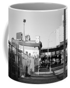 The Face In Black And White Coffee Mug