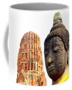 The Face Of A Buddha Coffee Mug