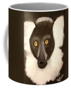 The Face Of A Lemur Coffee Mug