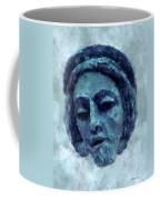 The Face Of Blue Coffee Mug