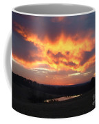 The Sunrise Face In The Clouds Coffee Mug