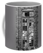 The Factory Window Bw Coffee Mug