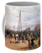 The Fairgrounds At Porte De Clignancourt Paris Coffee Mug