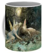 The Fairies From William Shakespeare Scene Coffee Mug