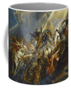 The Fall Of Phaeton Coffee Mug by  Peter Paul Rubens