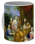 The Family Of Louis Xiv 1638-1715 1670 Oil On Canvas Detail Of 60094 Coffee Mug