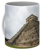 The Famous Kulkulcan Pyramid At Chichen Itza Coffee Mug