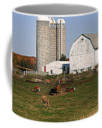 The Farm In Autumn Coffee Mug