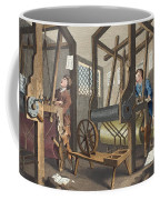 The Fellow Prentices At Their Looms Coffee Mug