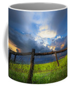 The Fence At Cades Cove Coffee Mug