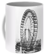 The Ferris Wheel At The Worlds Columbian Exposition Of 1893 In Chicago Bw Photo Coffee Mug
