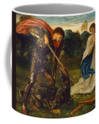 The Fight. St George Kills The Dragon Vi Coffee Mug