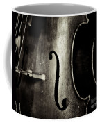 The Figure Of A Cello Coffee Mug