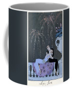 The Fire Coffee Mug by Georges Barbier