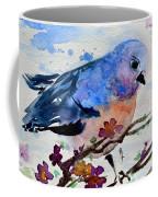 The First Bluebird Coffee Mug
