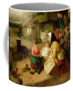 The First Break In The Family Coffee Mug by Thomas Faed