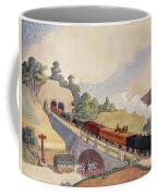 The First Paris To Rouen Railway, Copy Coffee Mug