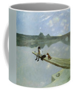 The Fisherman, 1884 Coffee Mug