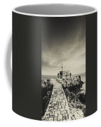 The Fishermen's Hut Coffee Mug by Marco Oliveira