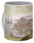 The Fishing Industry In Newfoundland Coffee Mug by G Bramati