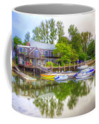 The Fishing Village Coffee Mug