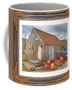 The Fishing Village Scene Coffee Mug
