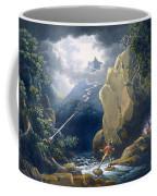 The Flash Of Lightening Caught Coffee Mug