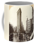 The Flatiron Building In Ny Coffee Mug