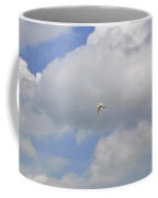 The Flight Of The Great Egret Coffee Mug