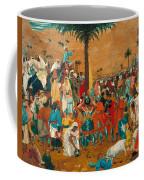 The Flight Out Of Egypt Coffee Mug