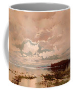 The Flood In The Darling 1890 Coffee Mug