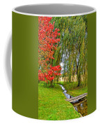 The Flow Of Autumn Coffee Mug