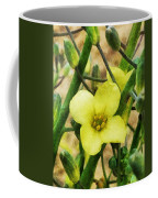 The Flower Of The Broccoli  Coffee Mug