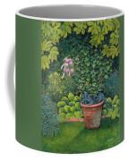 The Flower Pot Cat Coffee Mug by Ditz