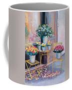 The Flower Shop Paris Coffee Mug