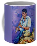 The Flute Player Coffee Mug