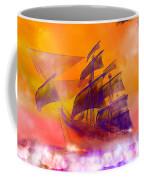 The Flying Dutchman Ghost Ship Coffee Mug