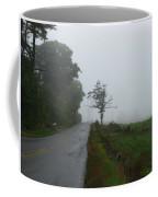 The Fog Of Road Coffee Mug