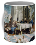 The Foot Washing Coffee Mug
