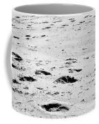 The Footprints At Wineglass Coffee Mug