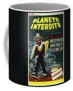 The Forbidden Planet Vintage Movie Poster Coffee Mug