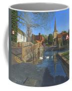 The Ford At Eynsford Kent Coffee Mug