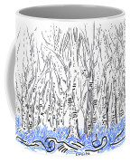 The Forest For The Trees An Aceo Coffee Mug