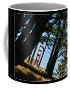 The Forest Of The Golden Gate Coffee Mug