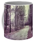 The Forest Road Retro Coffee Mug