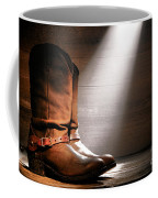 The Found Boots Coffee Mug by Olivier Le Queinec